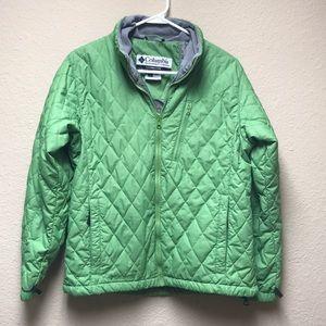 [Columbia] Diamond Pattern Coat